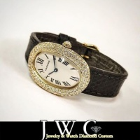 Cartier ベニュワールK18 アフターダイヤ &オーバーホール