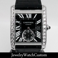 CARTIER | カルティエ タンクMC ダイヤモンド CRW5330004