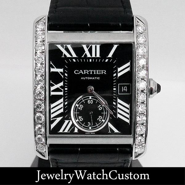 画像1: CARTIER | カルティエ タンクMC ダイヤモンド CRW5330004